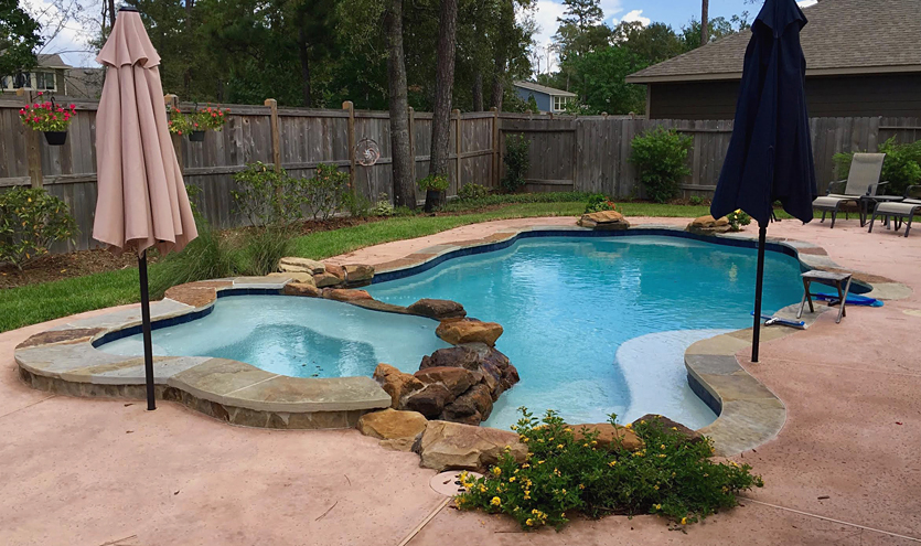Gallery of showcase pools for ultimate pools for Accentric salon oakridge