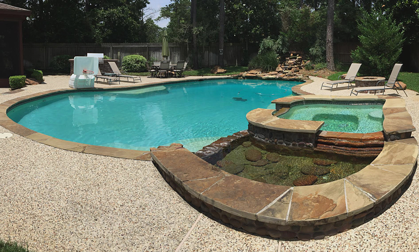 pool spa the woodlands