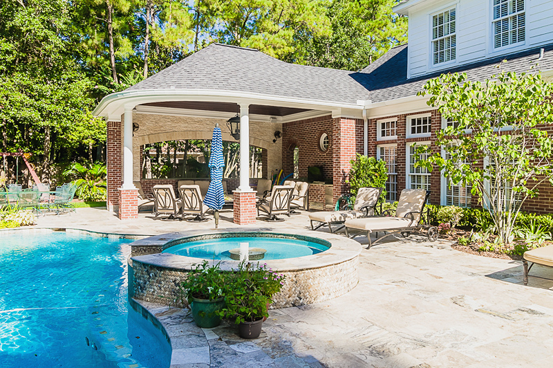 pool houses are also a popular request when paired with a swimming pool it creates an outdoor paradise that homeowners dont want to leave