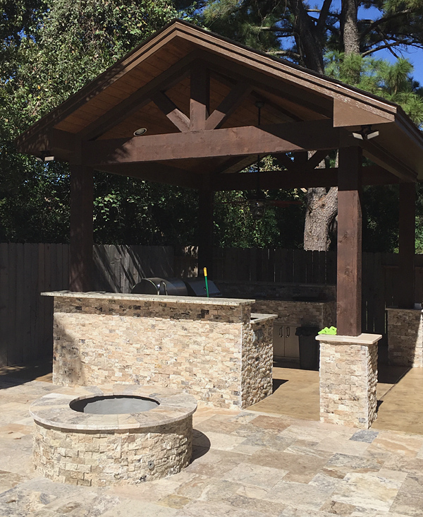 Outdoor Kitchen Pictures Roofs: Pictures Of Ultimate Pools Home Kitchens And Gazebo Roofs