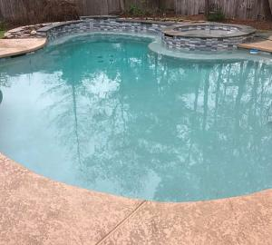groner pool finished