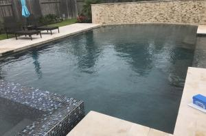 It's important to clean and drain your pool after heavy rains.