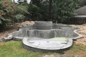 new pool gunite
