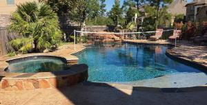 pool spa volleyball conroe