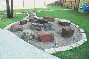 remastered fire pit rocks
